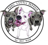 three little pitties